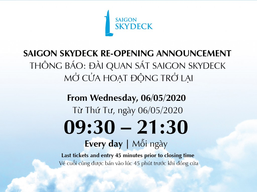 Saigon Skydeck re-opening_FBook